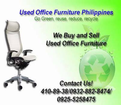 We and sell used office furniture