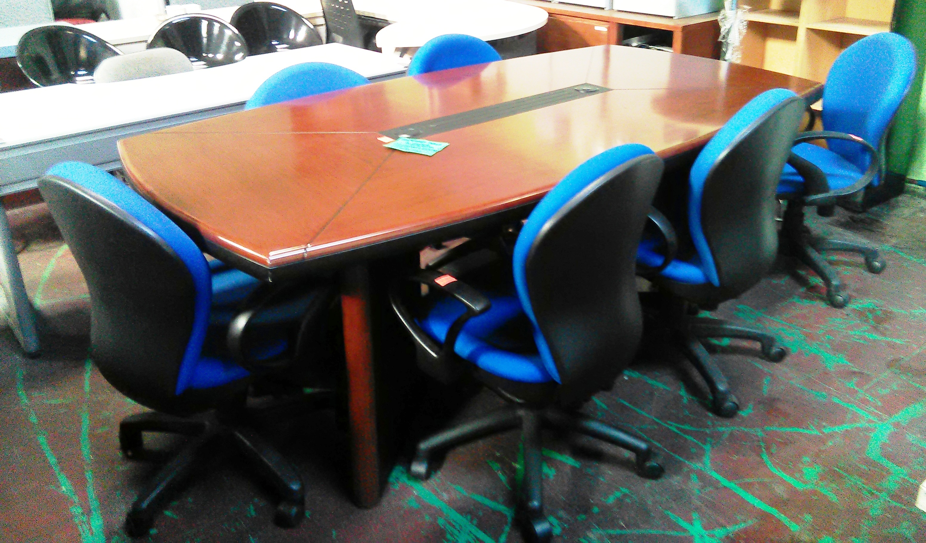 Second Hand Meeting Table Used Office Furniture Philippines - Second hand conference table
