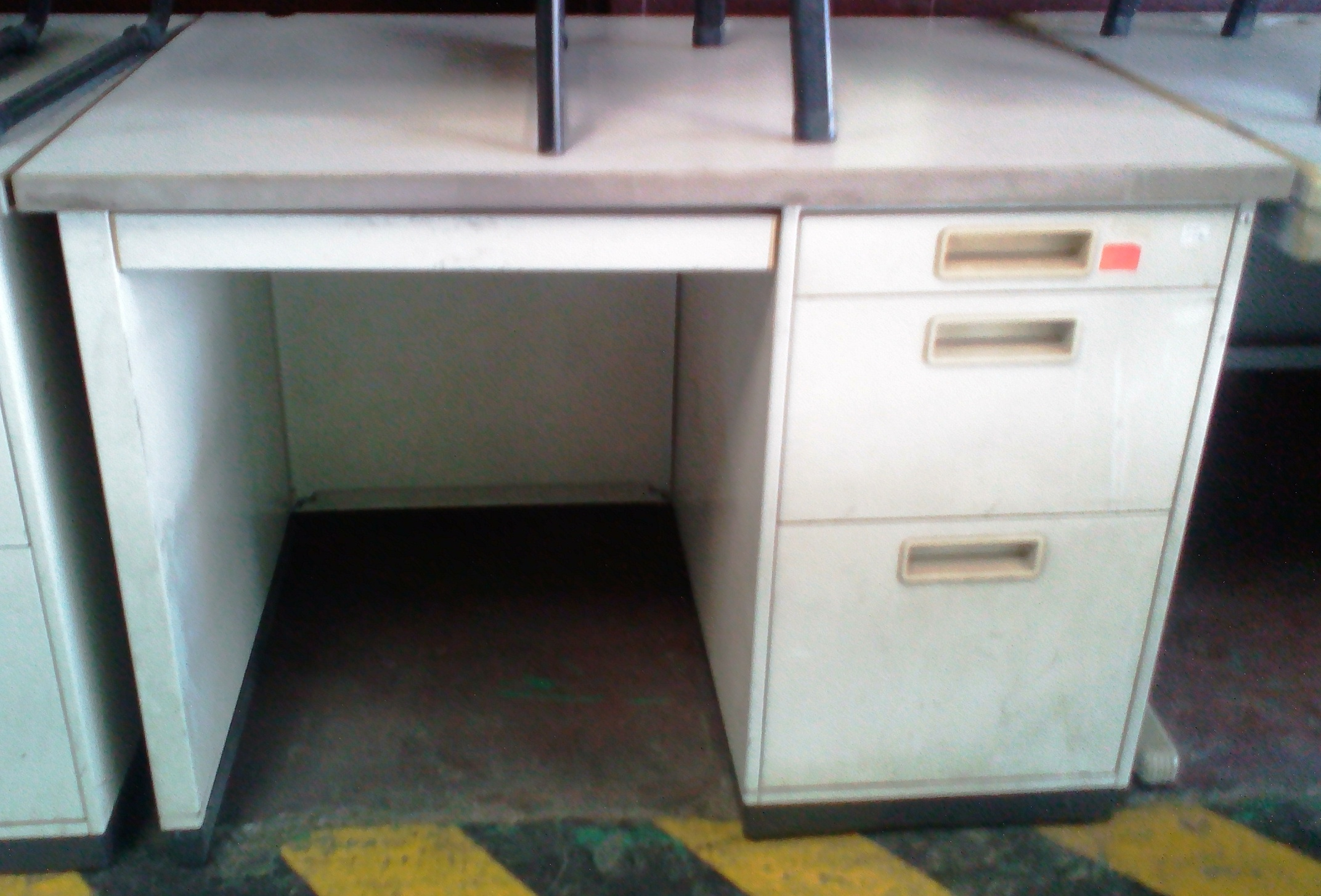 fixed single drawer or office frame maestro h desks desk pedestal
